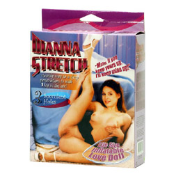 Dianna Bambola Gonfiabile in Posizione Stretching
