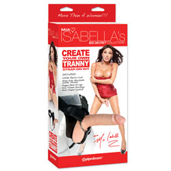Fallo Strap On Mia Isabella Create Your Own Tranny