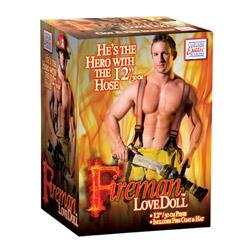 Fireman Bambola Gonfiabile Uomo Vigile del Fuoco