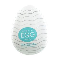 Masturbatore Tenga Wavy Egg
