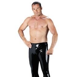 Pantaloni Sexy in Gomma per Uomo Rubber Secrets